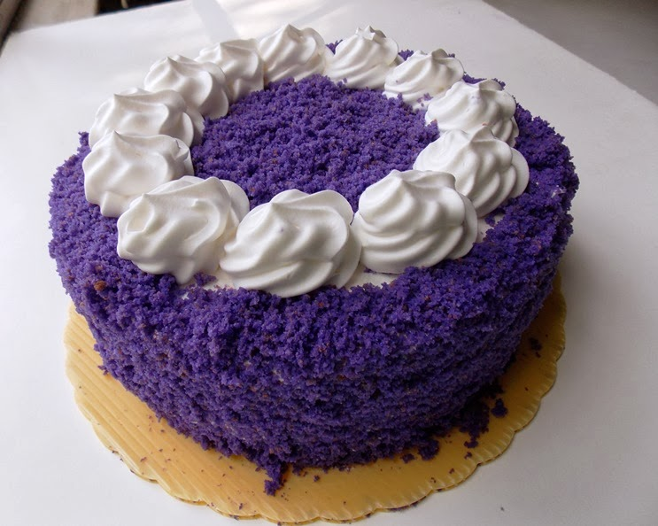 Ube Cake Recipe With Ube Powder