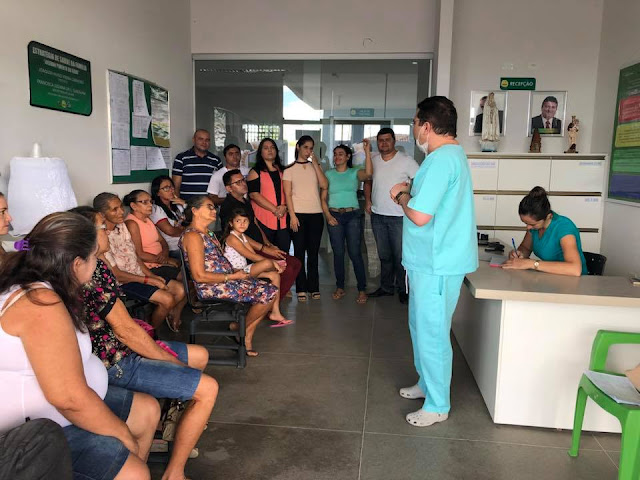 UBS II, Josivan Pimenta da Silva em Riacho dos Cavalos  realizou na manhã desta quinta-feira o segundo encontro do grupo de combate ao tabagismo