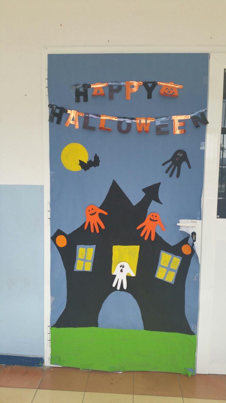 Los sue os y experiencias de 4 b puertas decoradas sobre for Imagenes puertas decoradas halloween