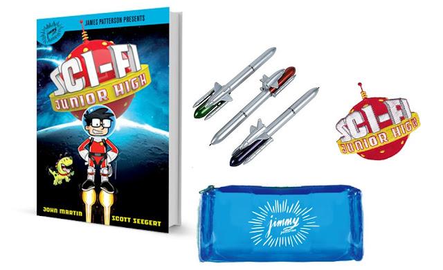 Enter to win a Sci-Fi Junior High Prize Pack! #SciFiJuniorHigh