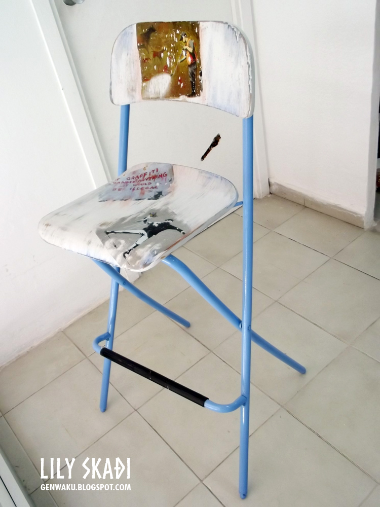 Genwaku course of recycling furniture april part 2 - Reciclado de muebles ...