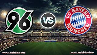 مشاهدة مباراة بايرن ميونخ وهانوفر Bayern munich Vs Hannover 96 بث مباشر بتاريخ 02-12-2017 الدوري الالماني