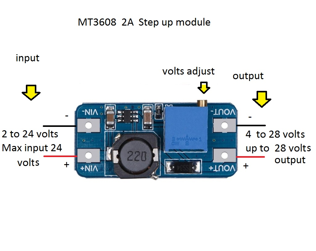 Same As The Blue In The Diagram But Used 100uf Caps Instead Of 220