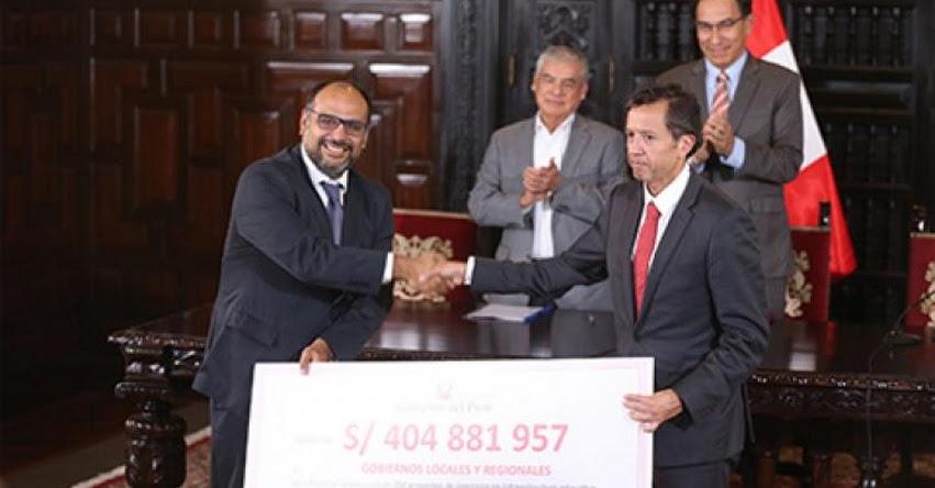 MINEDU: Gobierno transfiere 404 millones de soles a gobiernos regionales y locales para 250 proyectos de infraestructura educativa - www.minedu.gob.pe