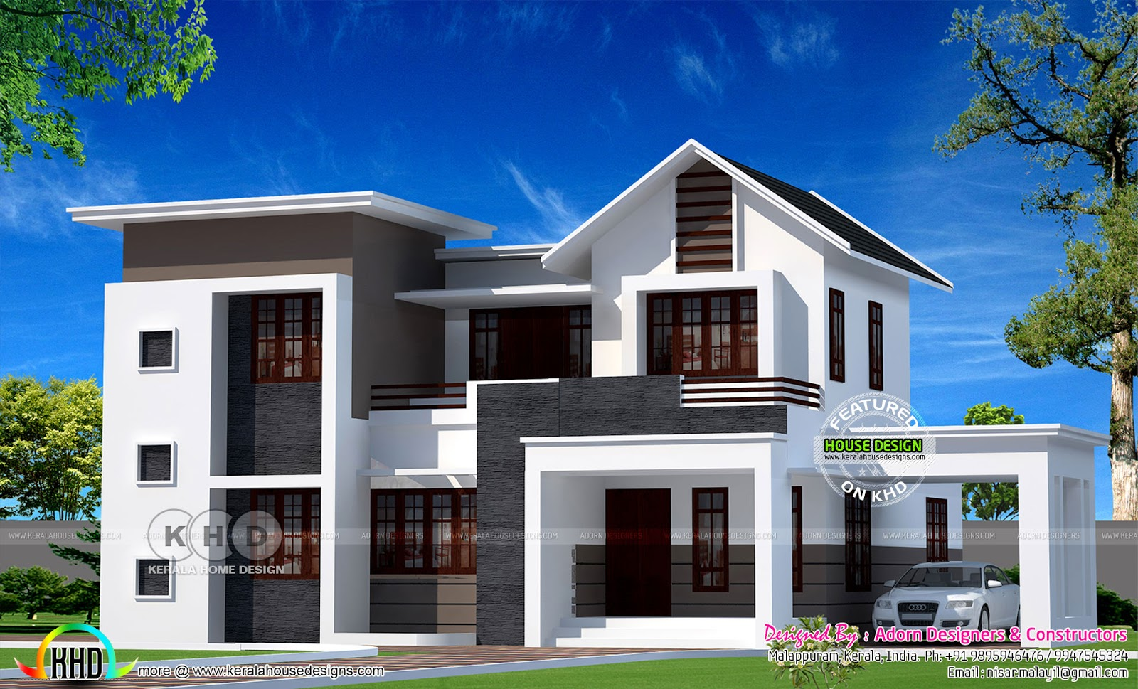 3d vs real home design kerala home design and floor plans