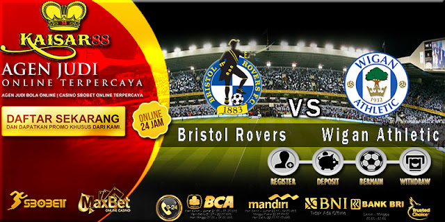 Prediksi Bola Jitu Bristol Rovers vs Wigan Athletic 25 April 2018
