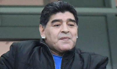 Video: Diego Maradona collapses from excitement as Argentina beats Nigeria To Qualify to the World Cup Knockout stage