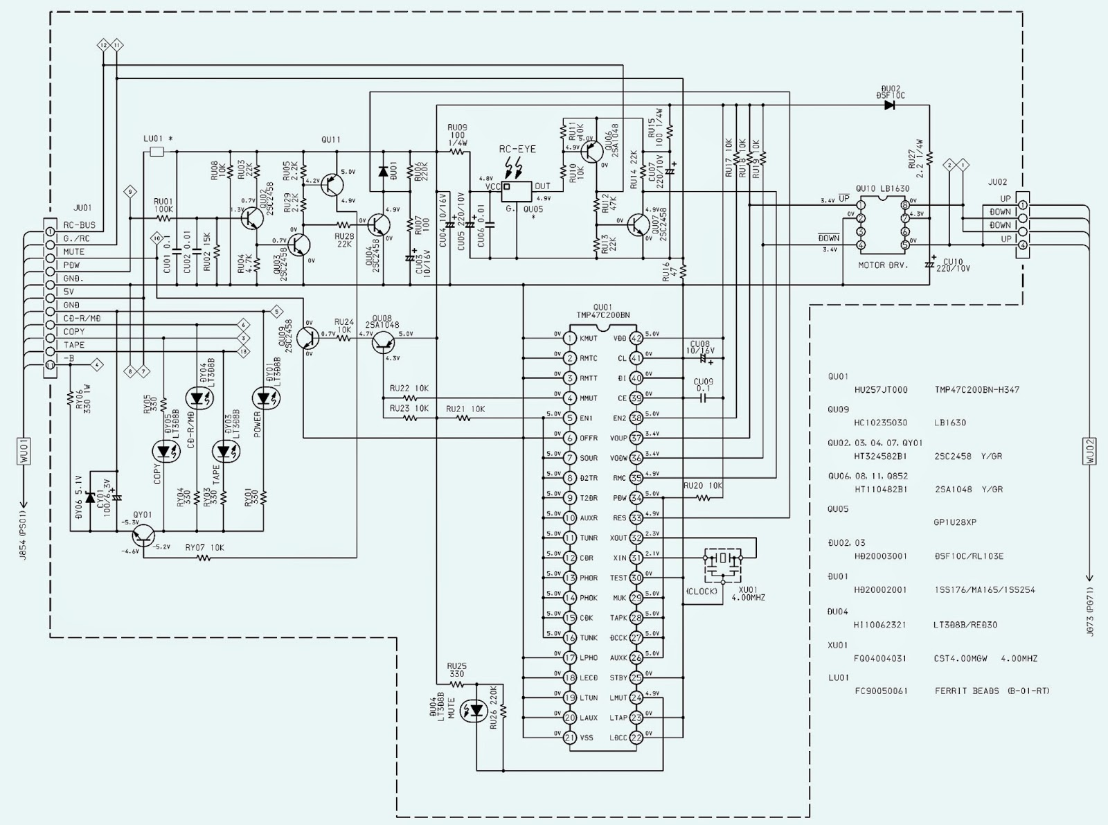 Wiring & diagram Info: MARANTZ PM6010 OSE SCHEMATIC Wiring diagram Schematic Integrated Amplifier