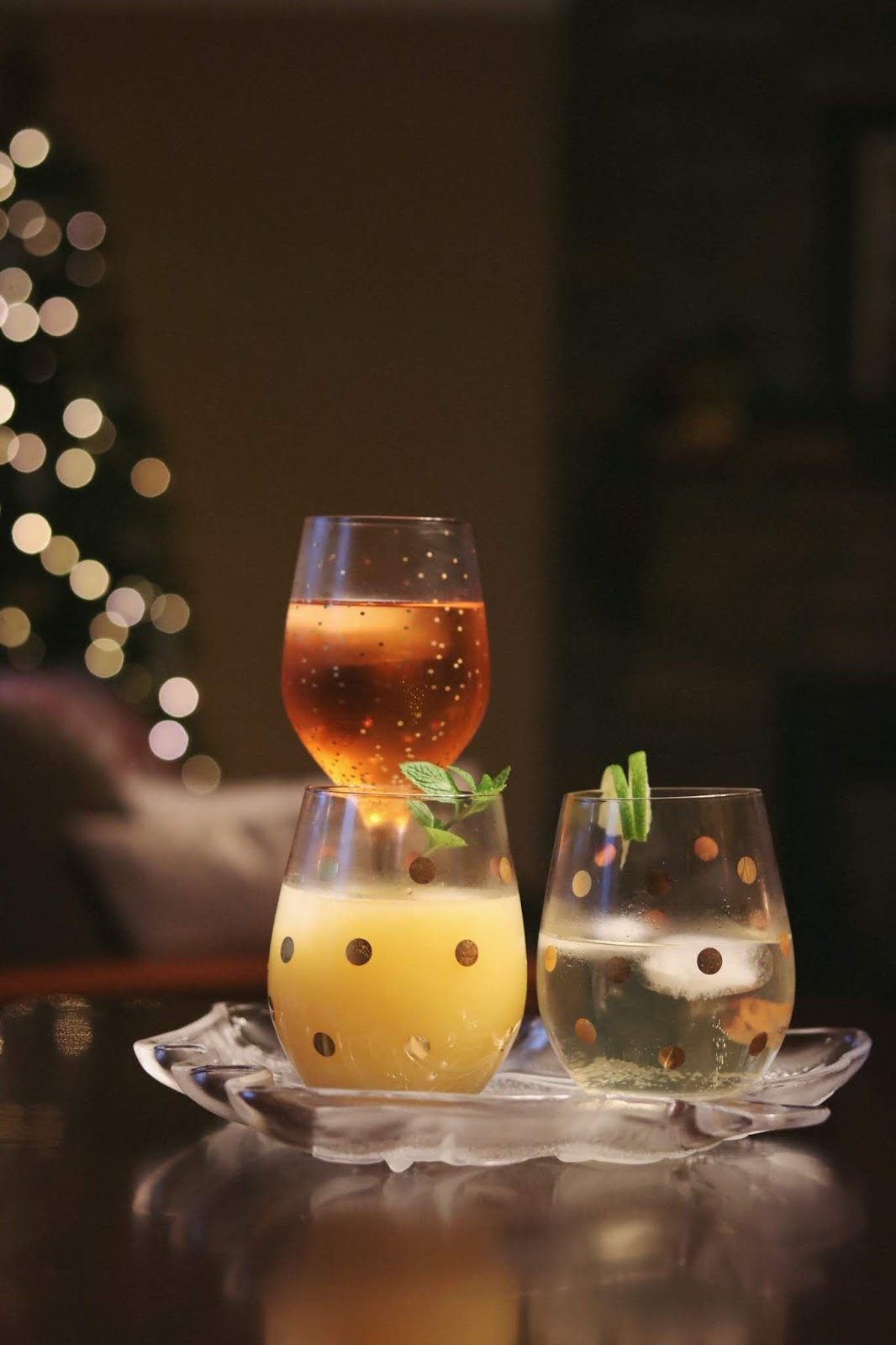 easy holiday cocktail recipes Georgian Bay Gin Smash aleesha harris vancouver lifestyle blogger
