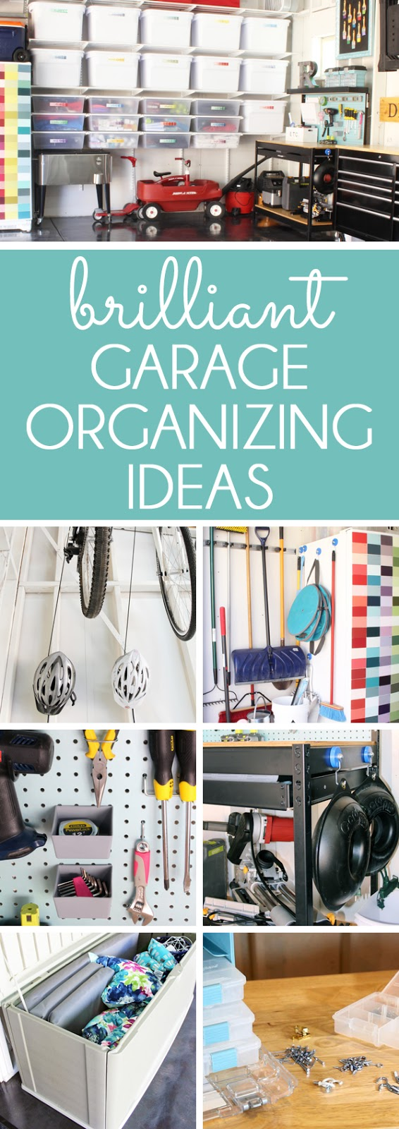 garage organization ideas brilliant ways to organize the garage blue i style 30548