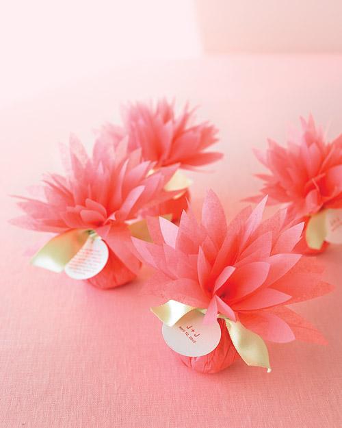 12 gorgeous tissue paper flower tutorials lines across for Paper flower templates martha stewart