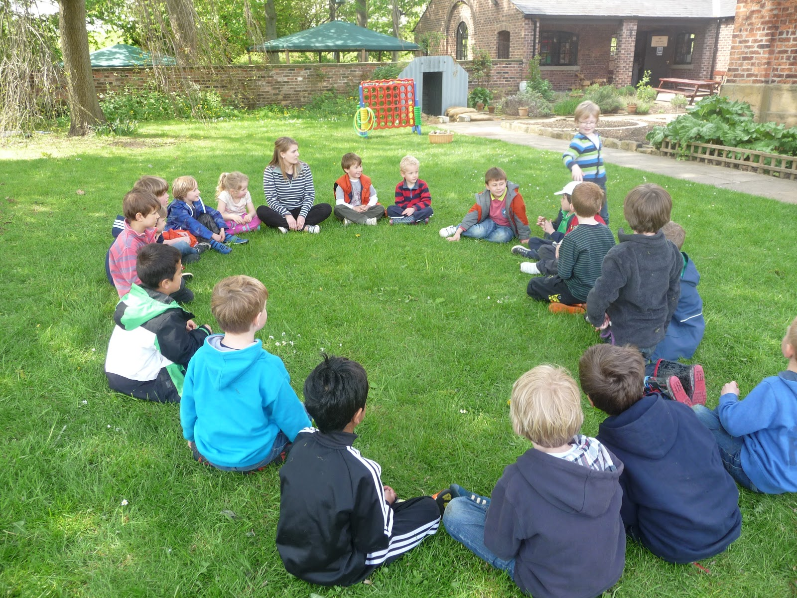 Harewood CE Primary School Web Log: Back to Nature Class 2