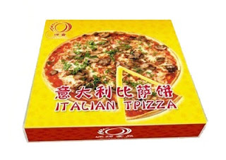 Chinese pizza