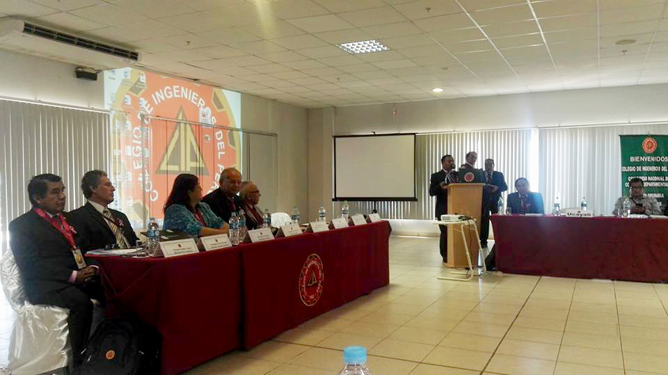 Acuerdan adquisición de 6 acelerógrafos en Congreso Nacional de Consejos Departamentales del CIP