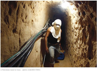 tunnel entre Gaza et Israël