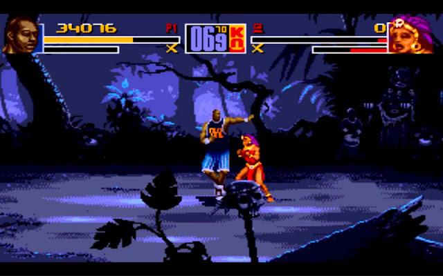 Shaq-Fu, Shaq-Fu legend reborn, Shaq-Fu 2, Shaq-Fu destroy, descargar Shaq-Fu, juego de peleas, NBA, nba, trucos Shaq-Fu, guía Shaq-Fu, consola, videjuego retro, juego de lucha, 2D, mega drive