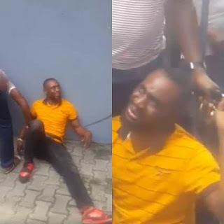 MAN CAUGHT STEALING AT A BANK – SEE WHAT HAPPENED NEXT