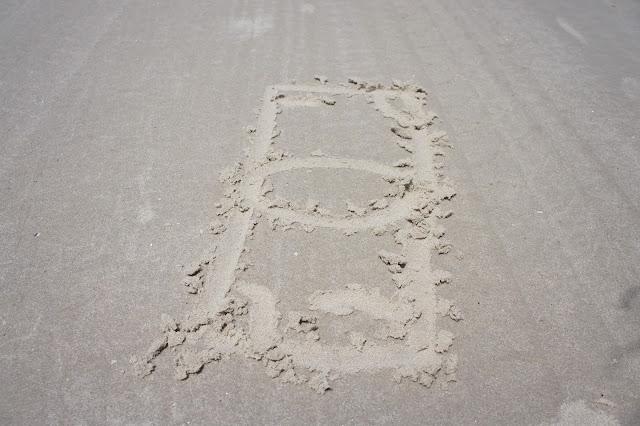Beachcombing Bingo at Mustang Island State Park