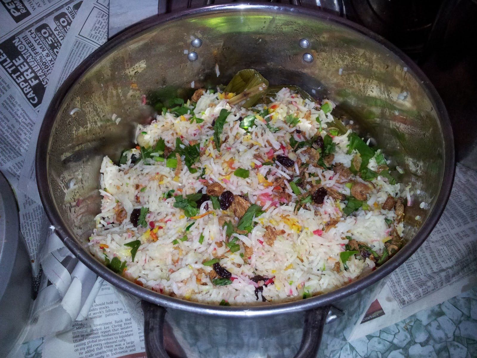 equilibrium: Resepi Nasi Minyak Hujan Panas