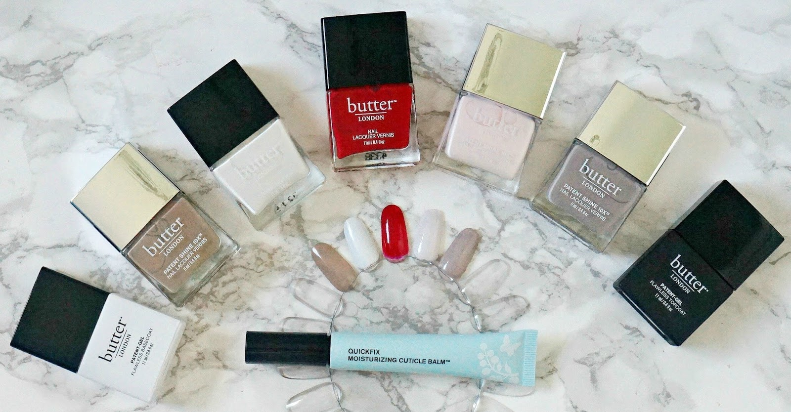 Butter London nail product range review | Beautylymin