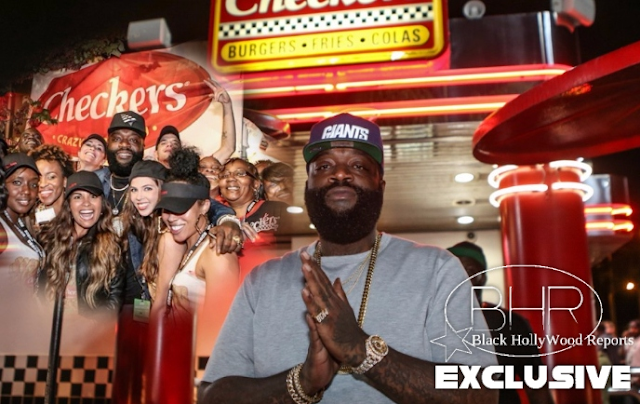 Rick Ross is in a Franchise Buying Mode With Adding Checkers To His List
