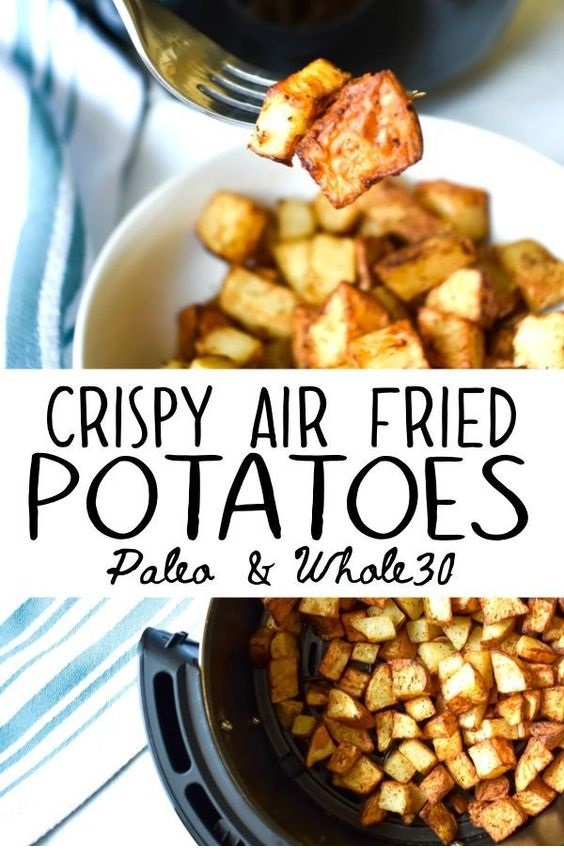 Crispy Air Fired Potatoes