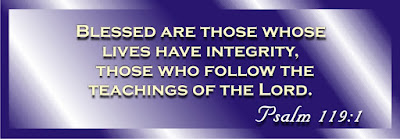 those with integrity
