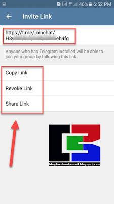 cara mengajak teman ke grup telegram dengan link grup telegram