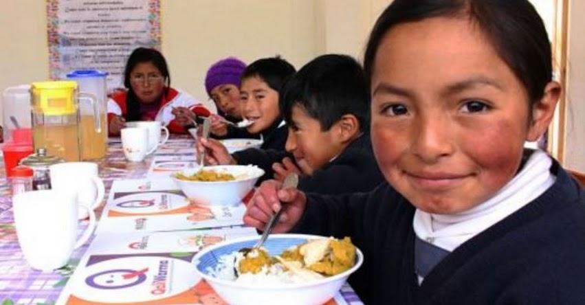 QALI WARMA: Programa social atenderá este año a más de 123 mil escolares de Cajamarca - www.qaliwarma.gob.pe
