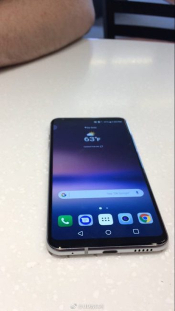 The new real image of LG V30 before its presentation