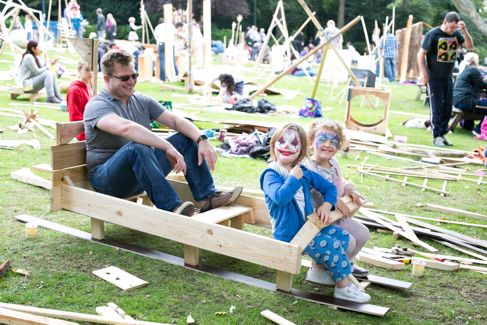 A Guide to Gateshead Sculpture Day - A FREE Family Day Out | 30th September - Saltwell Park - boat building