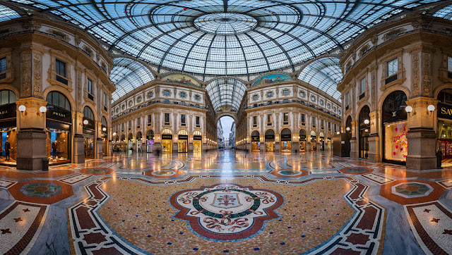 Shoppings em Milão