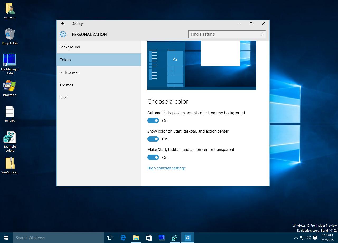 How to Customize the Windows 10 Taskbar - Windows 10 Insider
