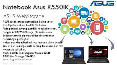 ASUS WebStorage 32GB Untuk 2 Tahun - Blog Mas Hendra