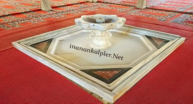 Edirne Selimiye Camii Mermer Şadırvan
