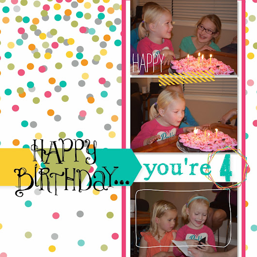 Happy Birthday... you're 4! MDSM113, SC104