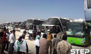 Pengosongan Dua Kota Syiah di Pedesaan Idlib Selesai