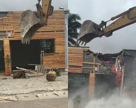 Demolition breaking news
