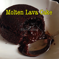 Chocolate Fondant/Molten Lava Cake