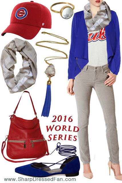 Chicago Cubs fashion women's outfit