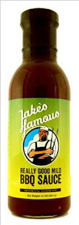 Jake's Famous BBQ Sauce for meats, chicken fish and more