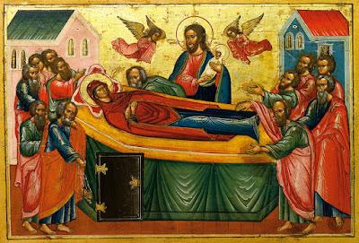 Архим. Пантелеимонъ (Нижникъ): Поученіе въ день Успенія Божіей Матери