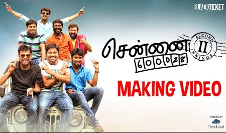 Chennai 28 II Innings | Making Video – Fun Overloaded