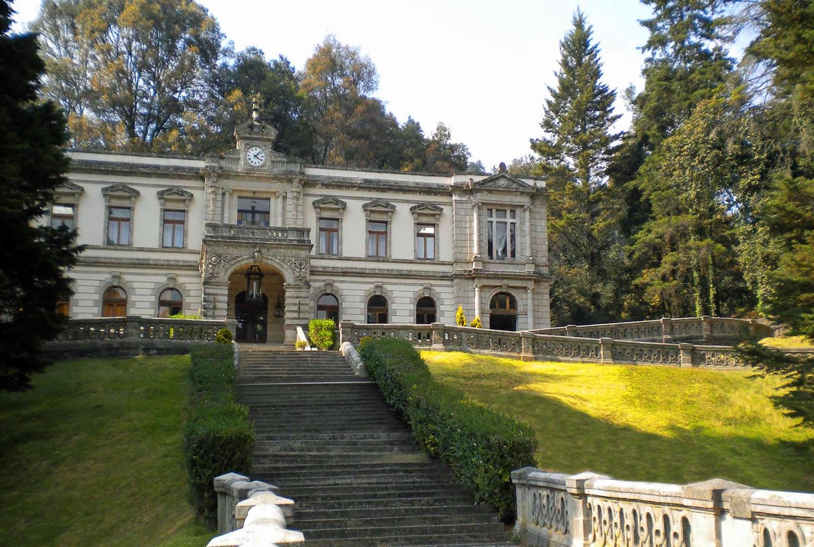 La Castañeda poseía una imponente figura arquitectónica.