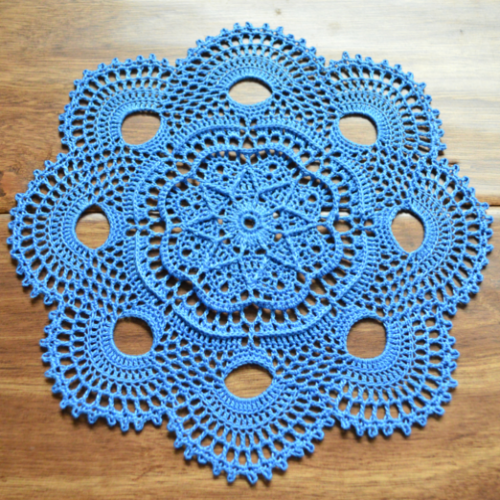 Crochet Elise Doily - Free Pattern