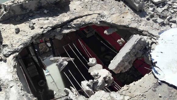 إعتداءت إرهابية بالقذائف على قرى حران ونجران وداما بريف السويداء.صور