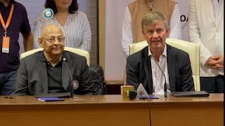 BCCI-UN Environment tie -up to promote green cricket, amitabh chaudhari, erik solham