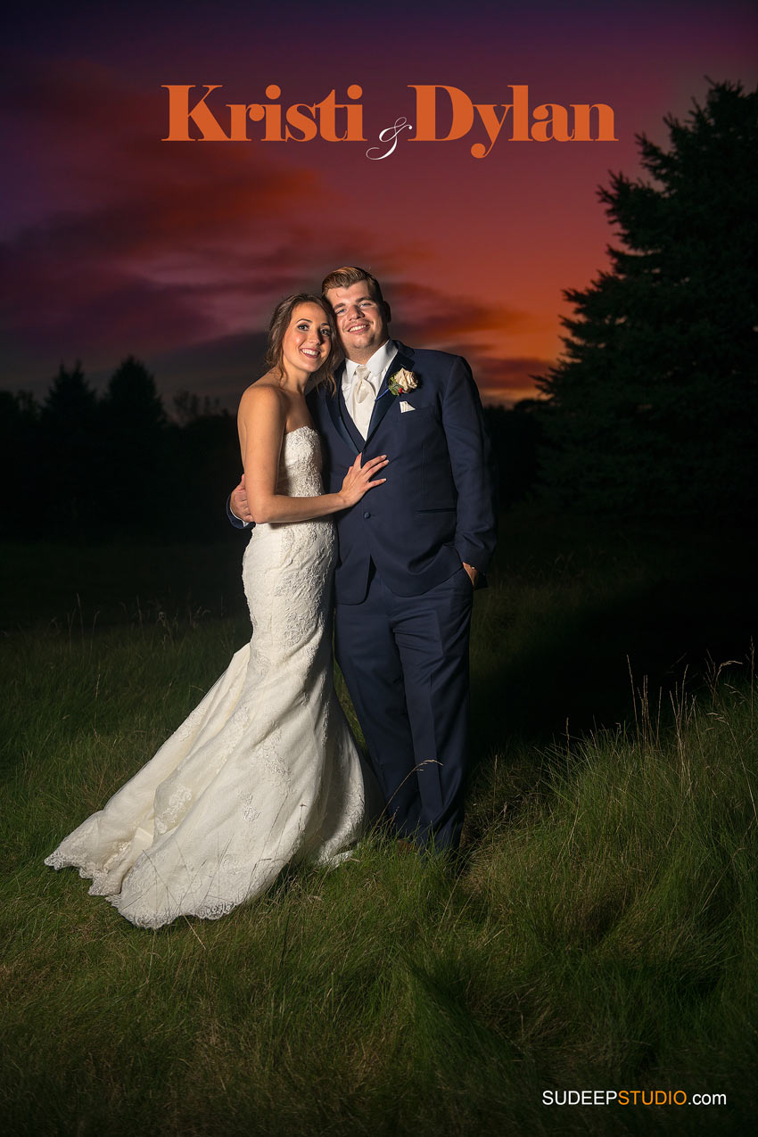 Port Huron Sunset Wedding Portraits SudeepStudio.com Ann Arbor Wedding Photographer