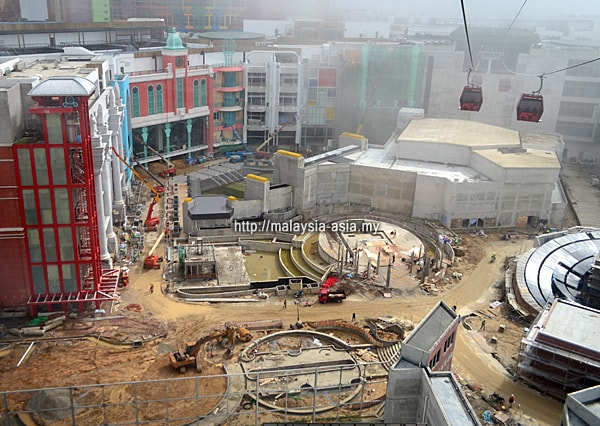 20th Century Fox World Theme Park Malaysia Construction