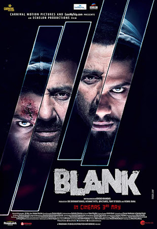 Poster Of Bollywood Movie Blank 2019 300MB Pdvd Full Hindi Movie